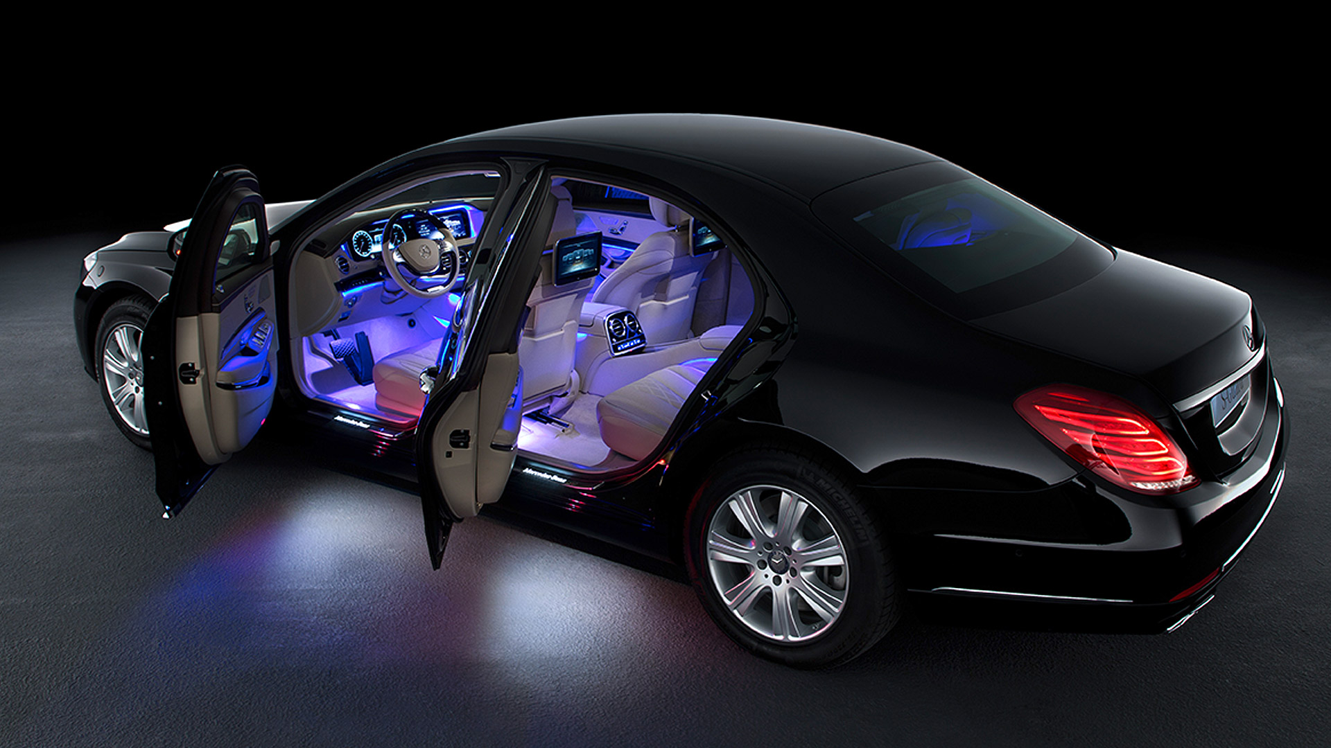 Interior Mercedes Benz S600 Guard | overdrive