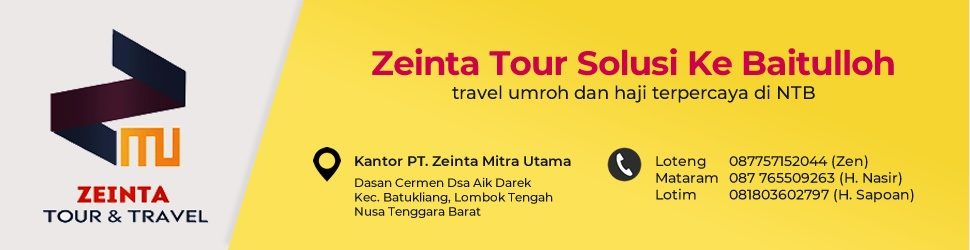 Zeinta Tour and Travel - Solusi Ke Baitullah